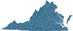 Mathews County map